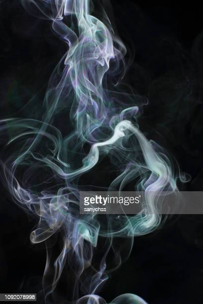 plume smoke wave design wallpaper
