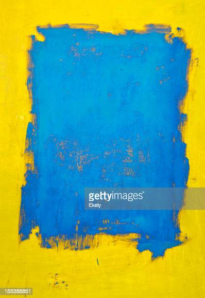 Abstract, yellow and blue  art backgrounds.