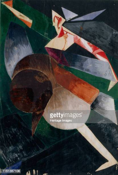 Abstraction The Dancer From a private collection Artist Exter Alexandra Alexandrovna