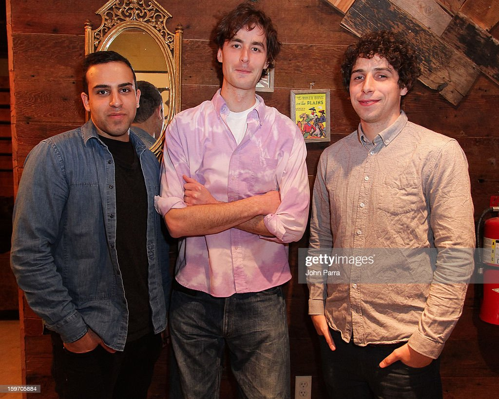 Abteen Bagheri, Tyrone Lebon and Bob Harlow attend the Nokia Music, SPIN, Sundance Channel and SomeSuch & Co Present New American Noise on January 18, 2013 in Park City, Utah.
