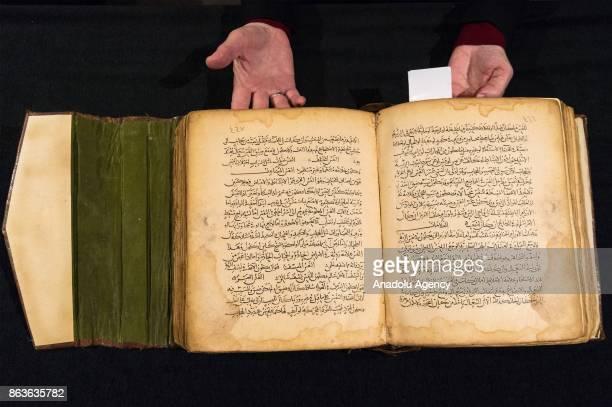 Abu 'Ali alHusayn ibn 'Abdullah ibn alHasan ibn 'Ali ibn Sina known as Avicenna Kitab qanun fil tibb volume III on pathology and diseases Mesopotamia...