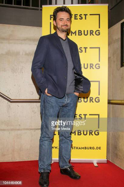 Abu Bakr Shawky attends the 'Yomeddine' premiere during the Film Festival on October 01 2018 in Hamburg Germany