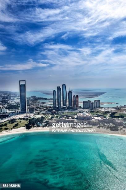 Abu Dhabi aerial view