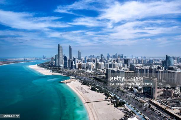 abu dhabi bay - abu dhabi stock pictures, royalty-free photos & images