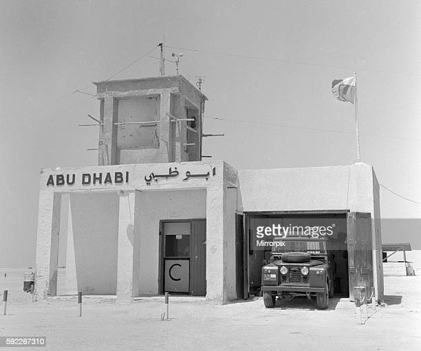 A Abu Dhabi border post manned by members of the army July 1965