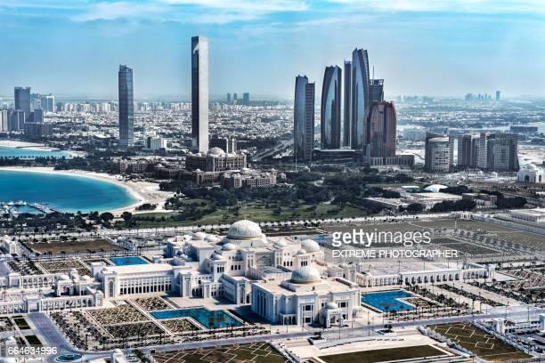 Abu Dhabi from the air