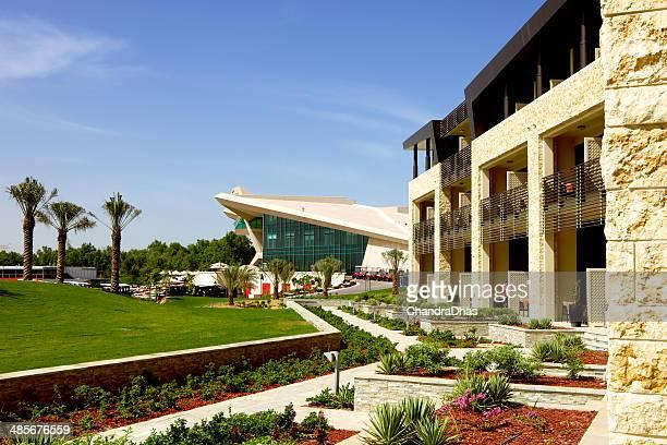 アブダビ・ゴルフ・クラブ、ウェスティンホテルです。