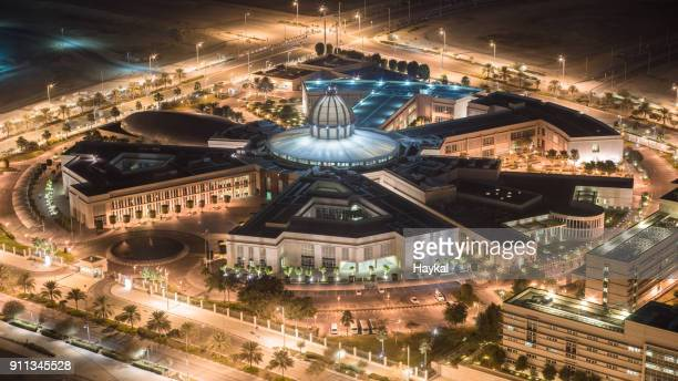 abu dhabi, hub of culture - university of paris stock photos and pictures
