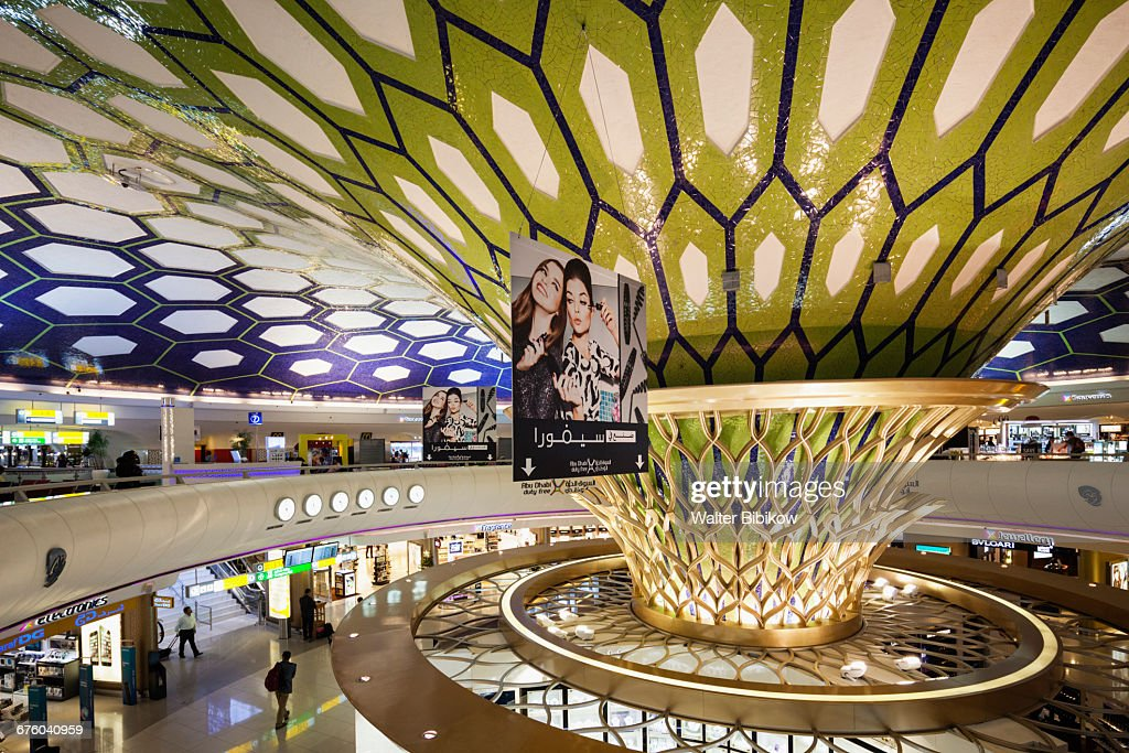 UAE, Abu Dhabi, Interior : Photo