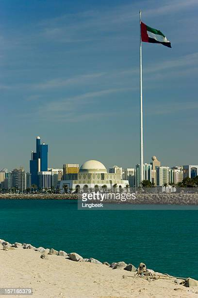 Abu Dhabi mosque and modern architecture 16207