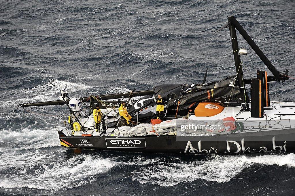 Abu Dhabi Ocean Racing S Yacht Azzam Skippered By Britain S Ian