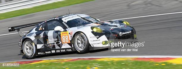 abu dhabi proton racing porsche 911 rsr - porsche carrera stock photos and pictures