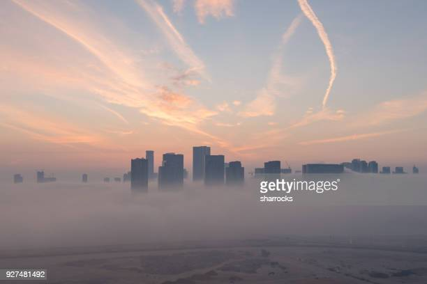 abu dhabi sunrise - abu dhabi stock pictures, royalty-free photos & images