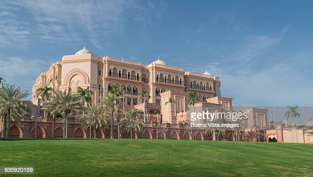 Abu Dhabi, the Emirates Palace Hotel