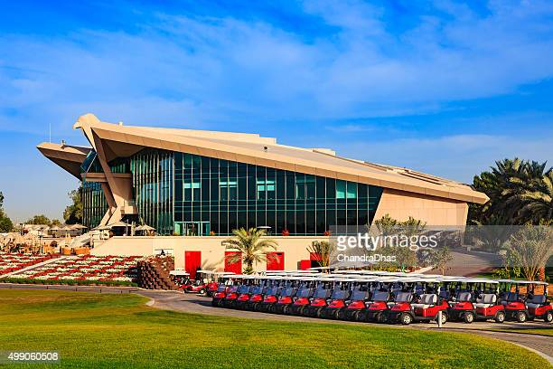 Abu Dhabi, UAE - Golf, the Club House
