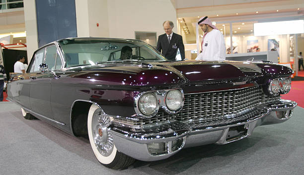Emiratis Look At A Cadillac Eldorado Car Pictures Getty Images