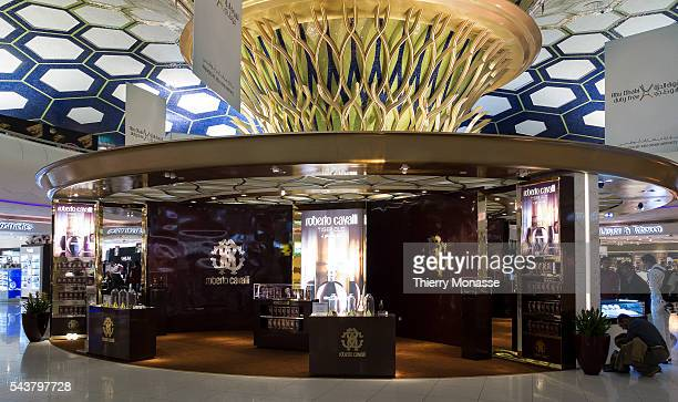 Abu Dhabi United Arab Emirates November 21 2013 The shopping mall of the Abu Dhabi airport