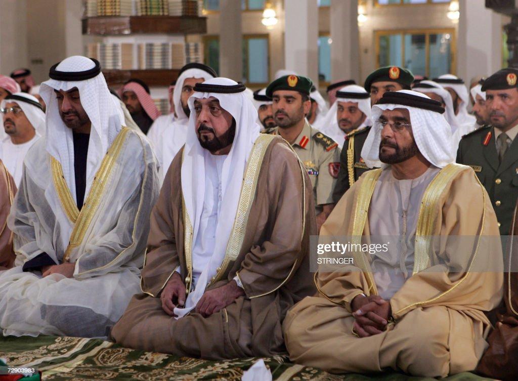 UAE President Sheikh Khalifa bin Zayed a : News Photo