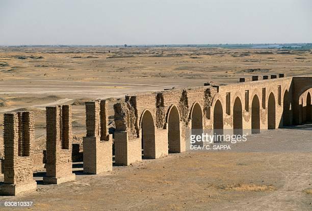 Abu Dulaf mosque commissioned by AlMutawakki Samarra Iraq Abbasid civilisation 9th century