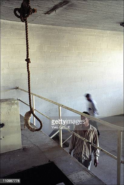 Abu Ghraib prison the execution chamber in Abu Ghraib Iraq in May 2003