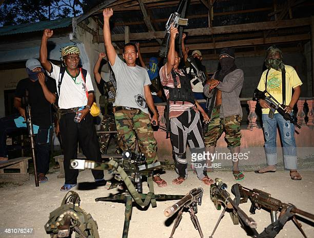 Abu Misry Mama spokesman of the Bangsamoro Islamic Freedom Fighters a splinter group of the Moro Islamic Liberation Front that still wants...