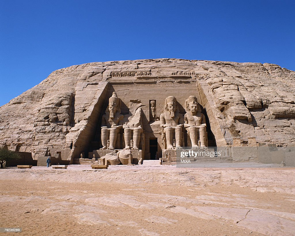 Abu Simbel palace in Egypt : Stock Photo