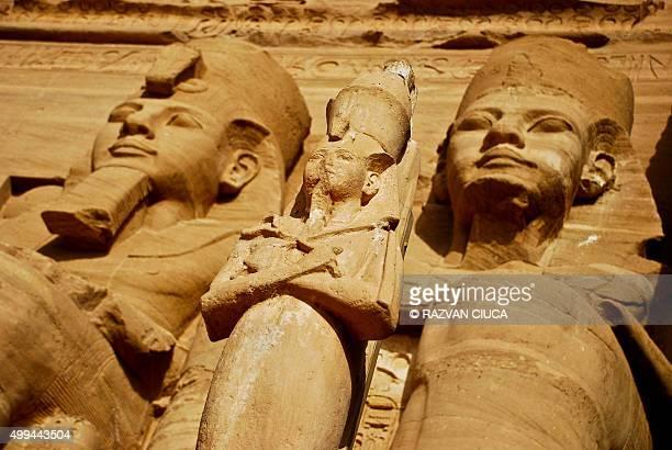 Abu Simbel Statues