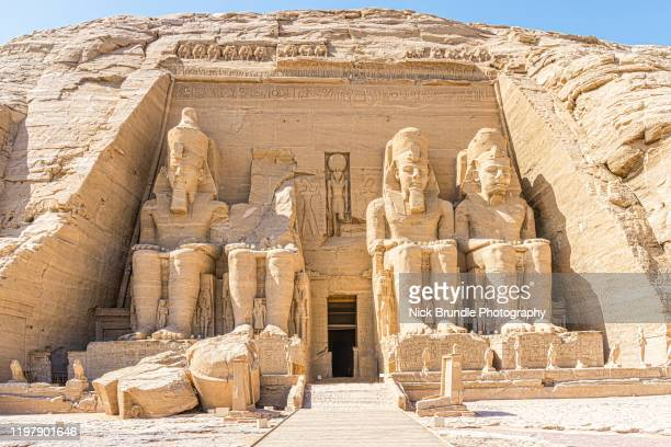 abu simbel temple, egypt - celebrity death stock pictures, royalty-free photos & images