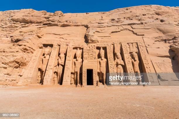 Abu Simbel Temples of Egypt.
