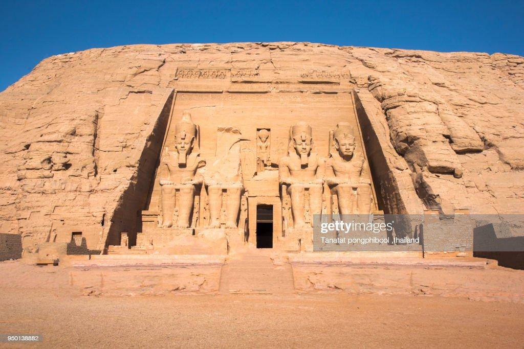 Abu Simbel Temples of Egypt. : ストックフォト