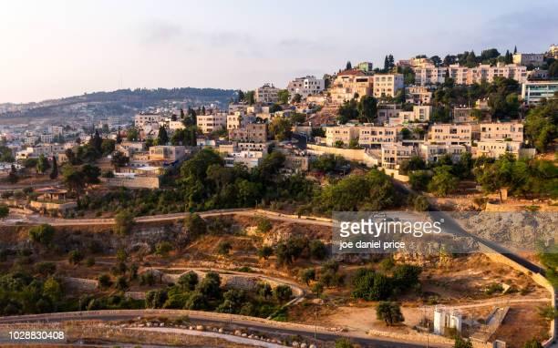 abu tor, jerusalem, israel - gerusalemme est foto e immagini stock