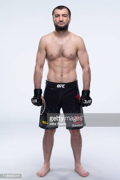 Abubakar Nurmagomedov of Russia poses for a portrait during a UFC photo session on November 6 2019 in Moscow Russia