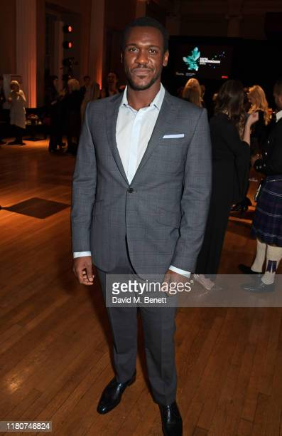 Abubakar Salim attends the BAFTA Breakthrough Brits celebration event in partnership with Netflix at Banqueting House on November 7 2019 in London...