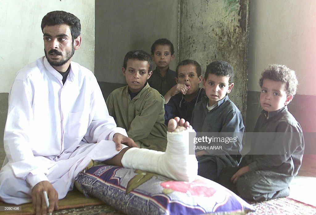 Abud Sarhan, the Iraqi shepherd seeking  : News Photo