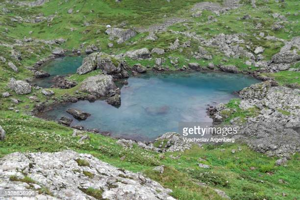 abudelauri lake, caucasus mountains, georgia - argenberg stock pictures, royalty-free photos & images