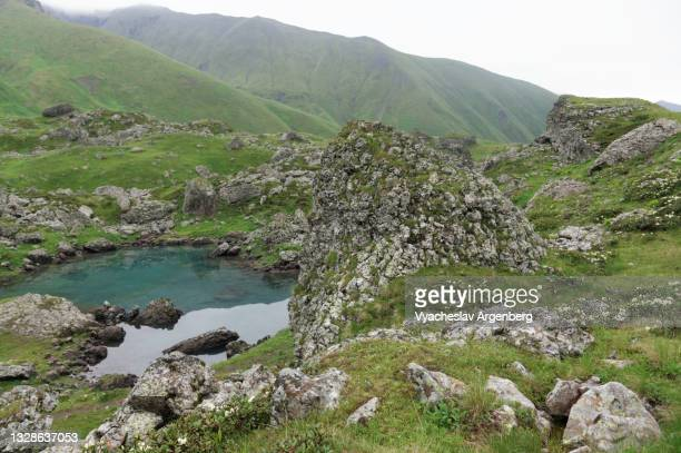 abudelauri lakes, georgia - argenberg stock pictures, royalty-free photos & images