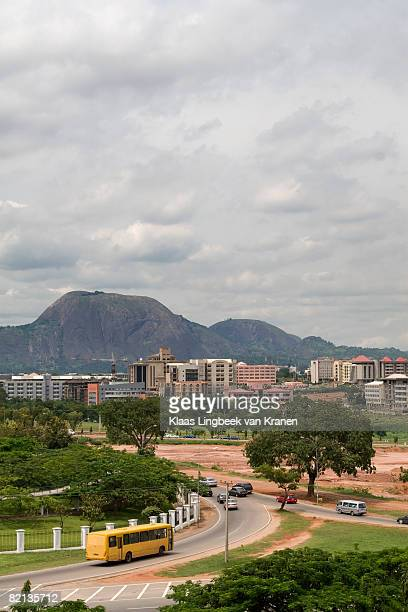 abuja cityscape - abuja stock pictures, royalty-free photos & images