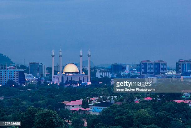abuja national mosque - abuja stock pictures, royalty-free photos & images