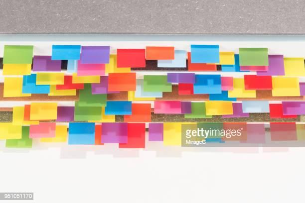 Abundance of Colorful Bookmarks