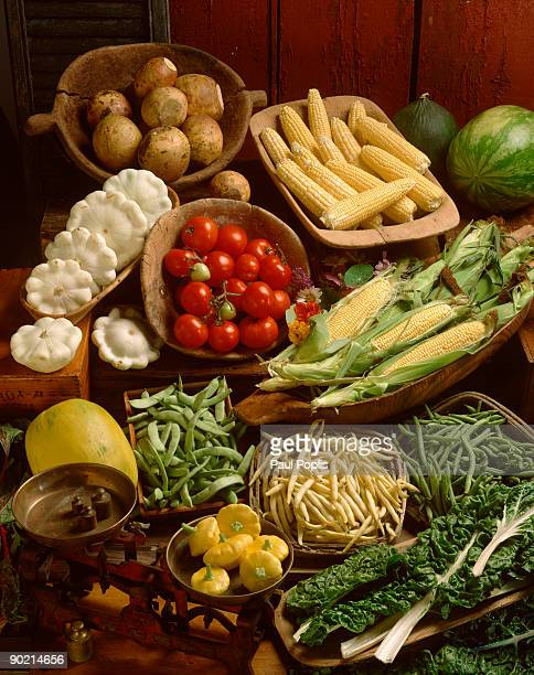abundance of vegetables and fruit - nabo sueco fotografías e imágenes de stock