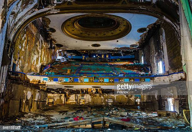 abundant theater - detroit michigan stock-fotos und bilder