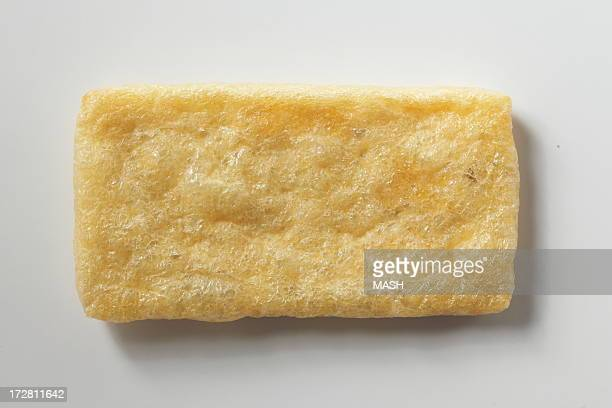 aburaage,deep-fried tofu - aburaage stock pictures, royalty-free photos & images