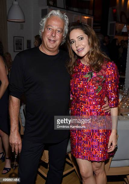Aby Rosen and Samantha Boardman attend Aby Rosen and Samantha Boardman host their Annual Dinner at The Dutch W Hotel South Beach on December 3 2015...