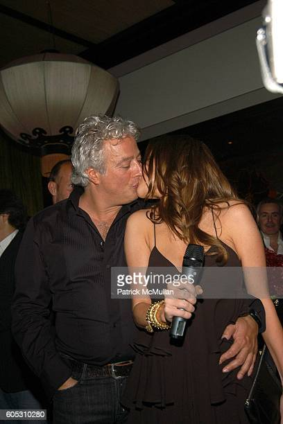 Aby Rosen and Samantha Boardman attend ABY ROSEN Birthday Celebration at Chinatown Brasserie on May 15 2006 in New York City