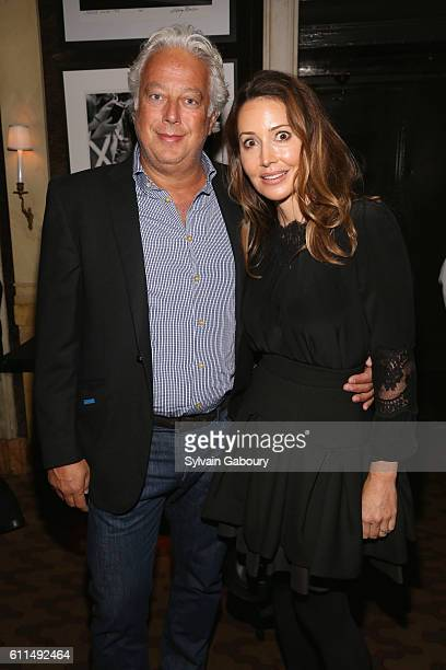 Aby Rosen and Samantha Boardman attend the Berggruen Klee Met Reception Carlyle Dinner at The Carlyle on September 29 2016 in New York City