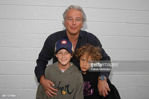 Aby Rosen and Sons attend Tri Star Pictures 'Lords Of Dogtown' Screening and Dinner Hosted by Nicole Seligman and Rob Wiesenthal at Blue Parrot on...