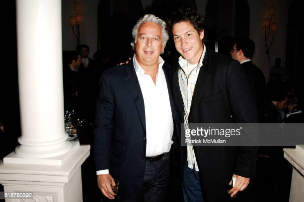 Aby Rosen and Vito Schnabel attend 'BURGUNDY BORDEAUX BLUE JEANS BLUES' A Casual Sunday Supper at DANIEL for the benefit of CITYMEALSONWHEELS at...