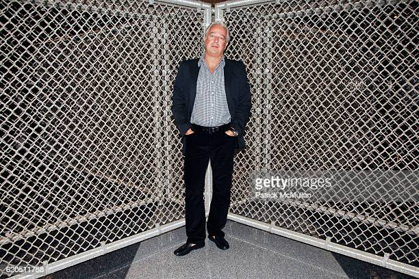 Aby Rosen attends Opening of LIZA LOU's Maximum Security Fence at LEVER HOUSE at Lever House on September 24 2008 in New York City