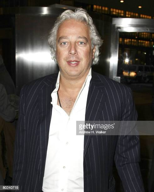 Aby Rosen attends the opening reception for Richard Dupont's Terminal Stage at Lever House on March 13 2008 in New York City