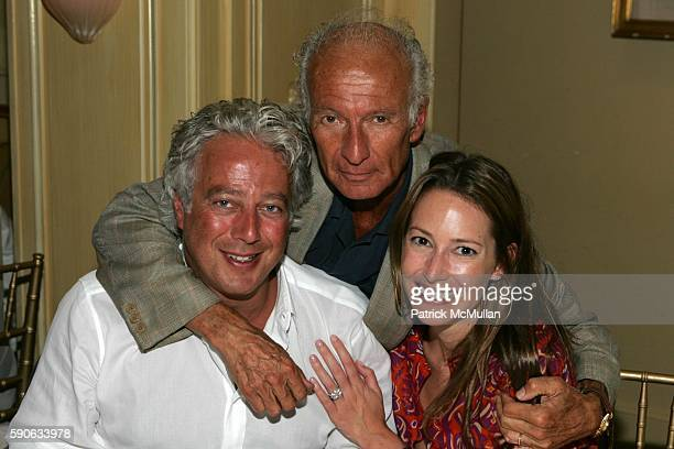 """Aby Rosen, Ron Delsener and Samantha Boardman attend Peggy Siegal Celebrates Her Birthday and Honors Bob Balaban at a Private Screening of """"Hopeless..."""